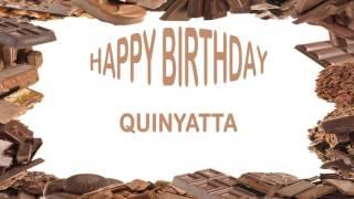 Quinyatta   Birthday Postcards & Postales