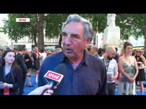 Wahlberg 'Too Handsome' for Downtown Abbey Movie - Jim Carter
