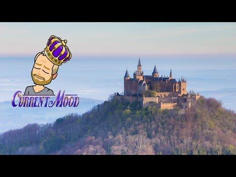 German Castles: Lichtenstein and Hohenzollern Castle