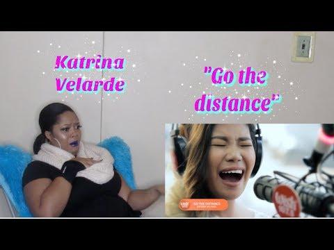 Katrina Velarde- &39;&39;Go The Distance&39;&39;Reaction:Michael Bolton  on Wish 1075 Bus