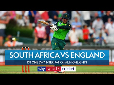 de Kock hits century as South Africa beat England | South Africa vs England | 1st ODI Highlights