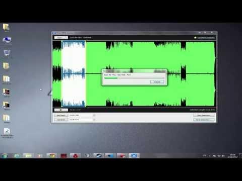 วิธีตัดต่อเพลงด้วยโปรแกรม Free MP 3 Cutter