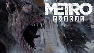 Metro: Exodus - Game Awards 2017 Trailer Cinematic View PS4/Xbox One/PC