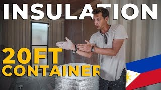 Container House Insulation 20ft   Philippines Tiny House