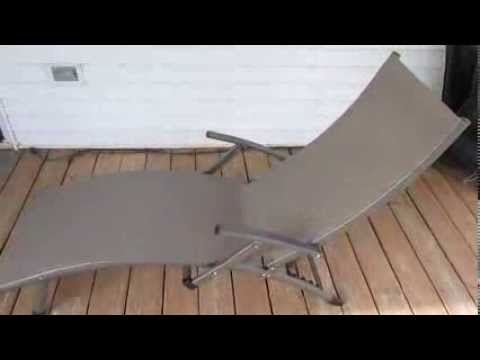 RST Outdoor Sol Sling Folding Patio Chaise Lounge In Taupe (2 Pack)