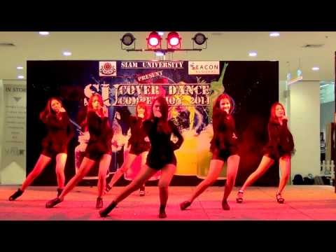 140119 CG7 cover AOA - Miniskirt (Short Ver.) + Express + Confused @Siam U Cover Dance 2014 (Final)