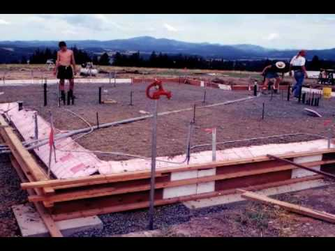 Building And Living Off The Grid In An Idaho Strawbale Home. Washington  State University