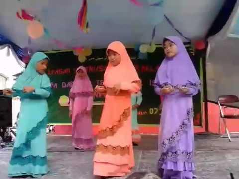 Tarian keloas (Allahumma sholiwasalim'alaika)
