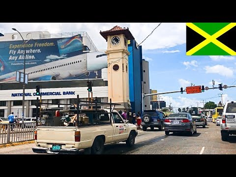 Kingston City Jamaica - impressions, attractions, street scenery 1