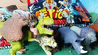The Epic Animals ANIMALI SELVAGGI 🦁 Arex scopre la collezio…