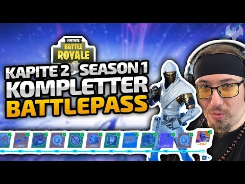 Battle Pass Level 100! Kapitel 2 Season 1 (+React Zum Live Event) - ♠ Fortnite Battle Royale ♠