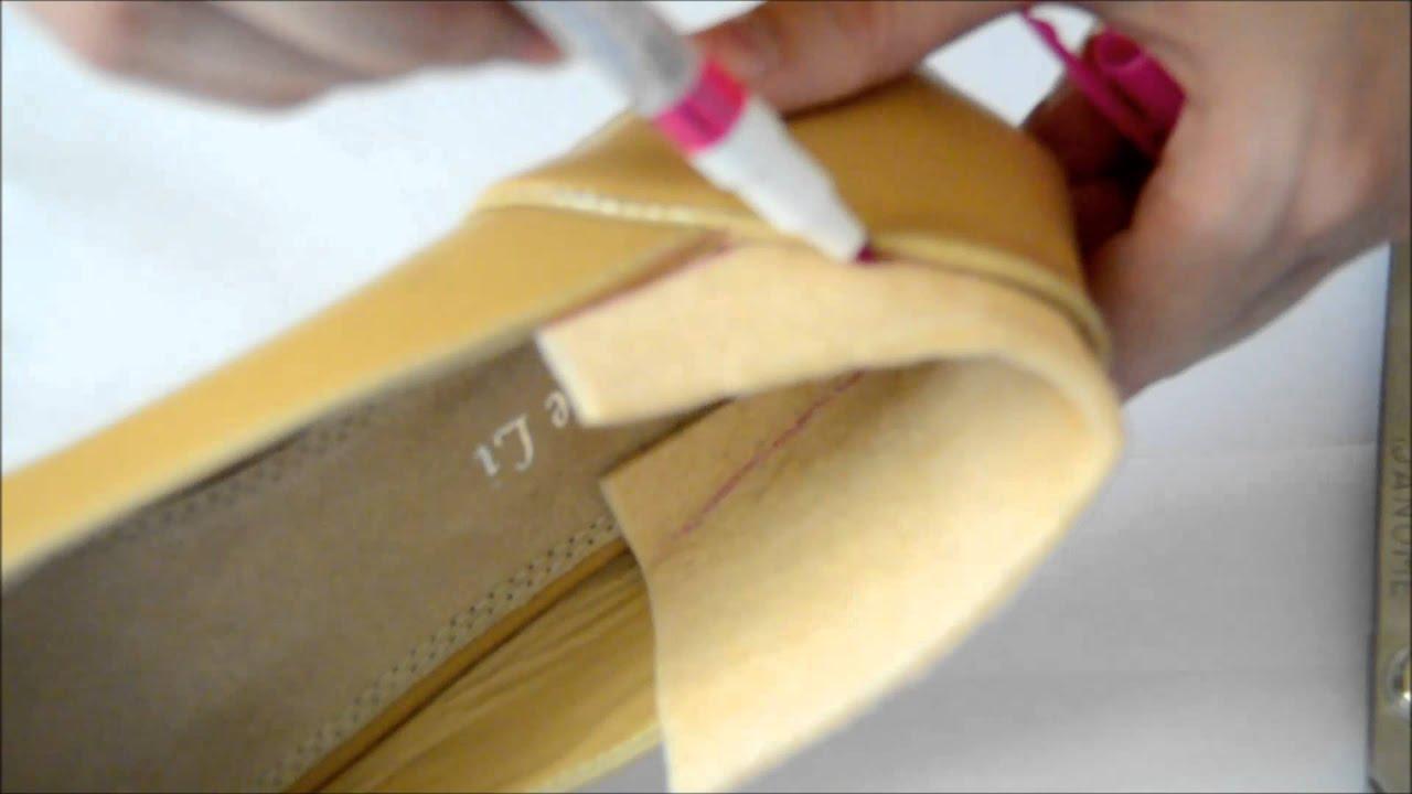 Как растянуть обувь в длину - YouTube