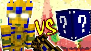 FARAÓ EGIPCIO VS. LUCKY BLOCK MEIA-NOITE (MINECRAFT LUCKY BLOCK CHALLENGE EGYPTIAN PHARAOH)