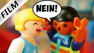 Playmobil Film deutsch   PIA & DAVES DATE - Warum will er sie nicht küssen? Kinderfilm Familie Vogel