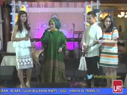 MELLY GOELAW feat SYAHNAZ - HADIAH TUHAN //LIVE JANJI SUCI RAFFI & GIGI 14 JUNI 2015