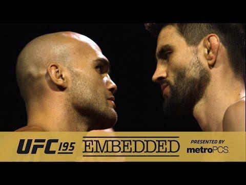 UFC 195 Embedded: Vlog Series - Episode 5