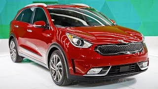 All-New Kia Niro Hybrid Utility Vehicle (Huv) Revealed Live!