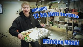 12 kg  MONSTERI TORTILLAHAASTE!