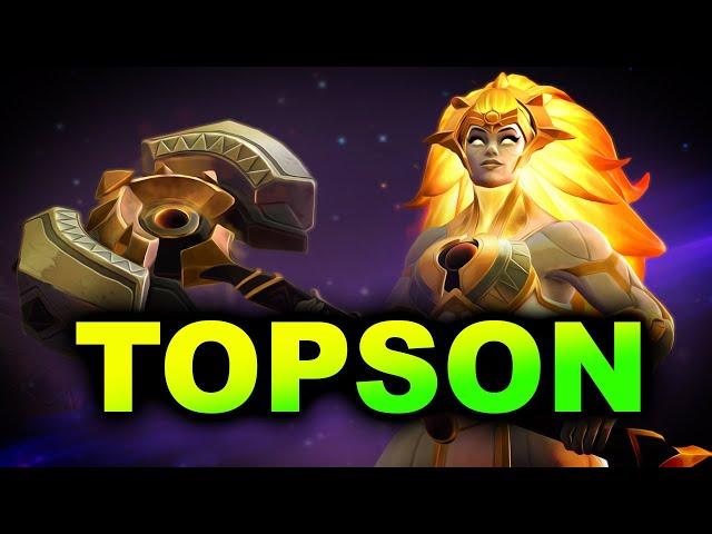 OG.TOPSON DAWNBREAKER GAMEPLAY - NEW PATCH 7.29 DOTA 2