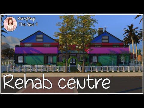 Lets build a rehab centre part 1// The Sims 4
