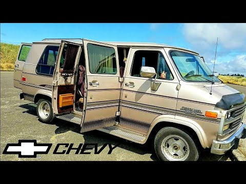 Chevy G20 Vandwelling Tour By Survival Bros #vanlife