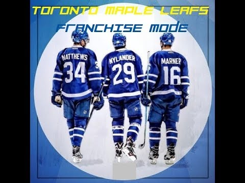 NHL 17 Franchise Mode The Toronto Maple Leafs Episode 10- Blockbuster Moves?