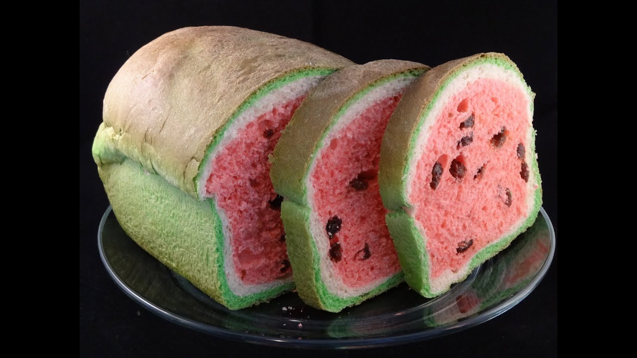 Watermelon Look Alike Raisin Bread With Yoyomax12 Youtube