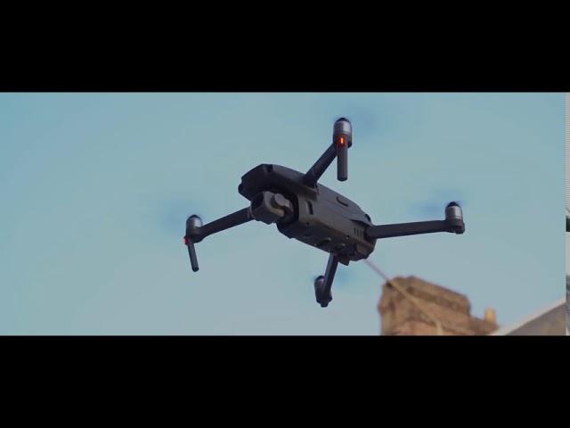 Modélisation d'un immeuble à Forges-Les Eaux par drones (Normandie)