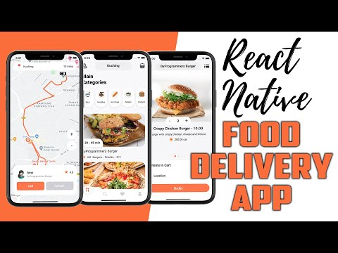 LCRN EP8 – Food Delivery App – React Native UI