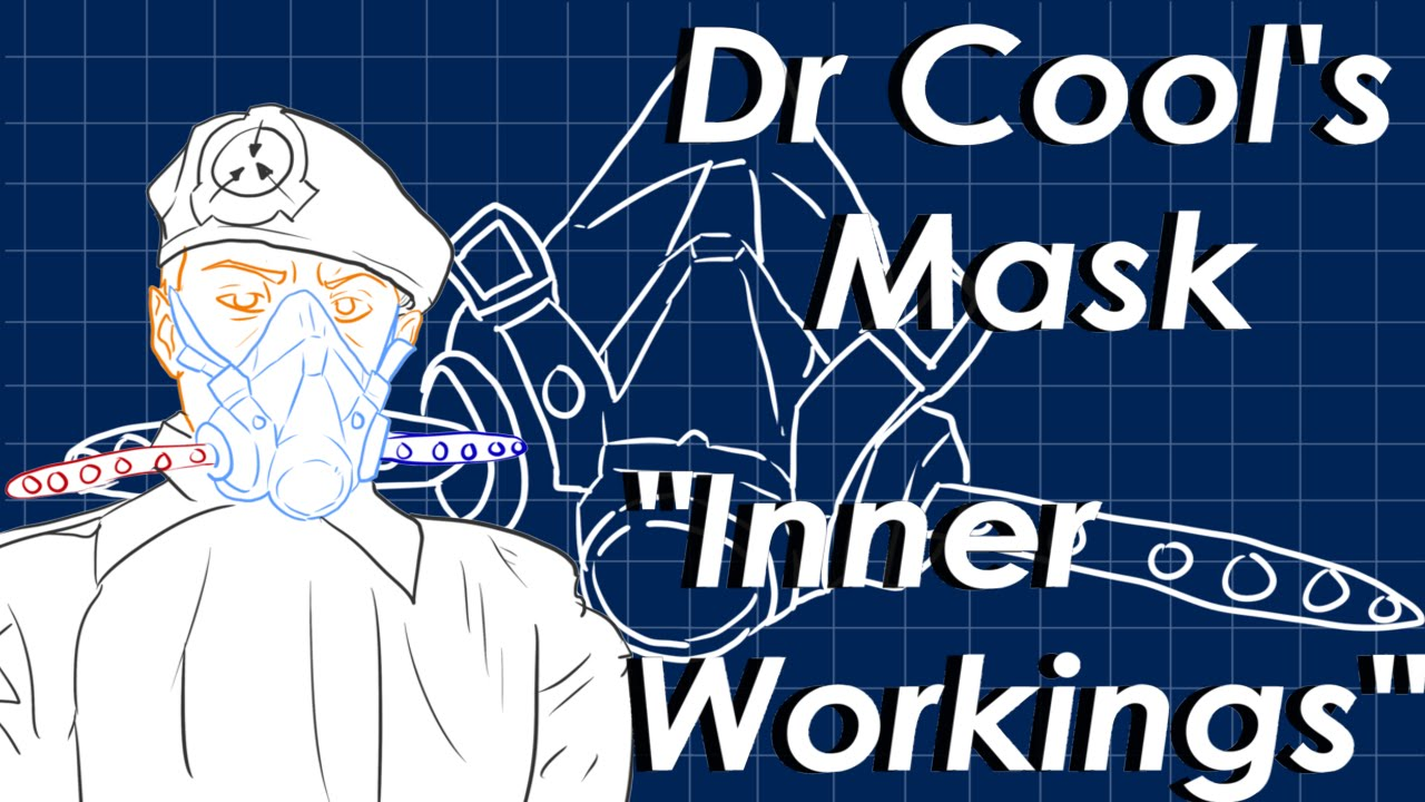 scp foundation dr cool s mask scp cosplay youtube