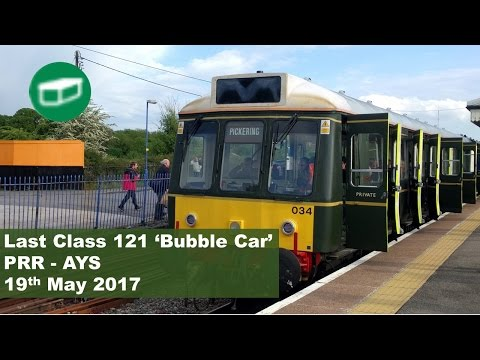 Last Class 121 Bubble Car Train
