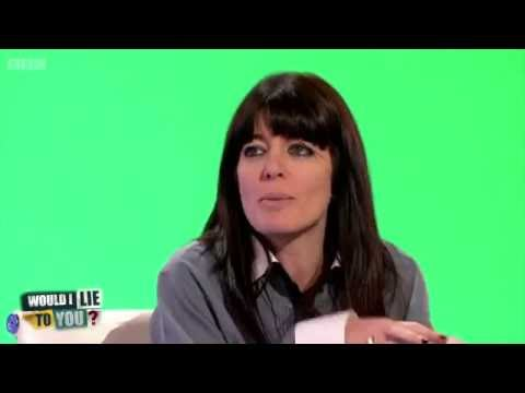 Claudia Winkleman and Yoshi the tortoise  Would I Lie to You? HD