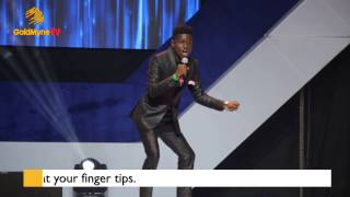 COMEDIAN KENNY BLAQ INCDREDIBE PERFORMANCE AT AY LIVE 2017