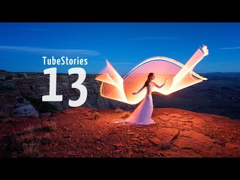 Tube light-painting in harsh conditions: the wind! - Tube Stories 13