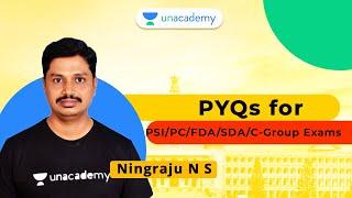 PYQs for PSI/PC/FDA/SDA/C-Group Exams   Ningraju N S