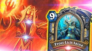 [Hearthstone] Control Freeze Mage Masterpiece