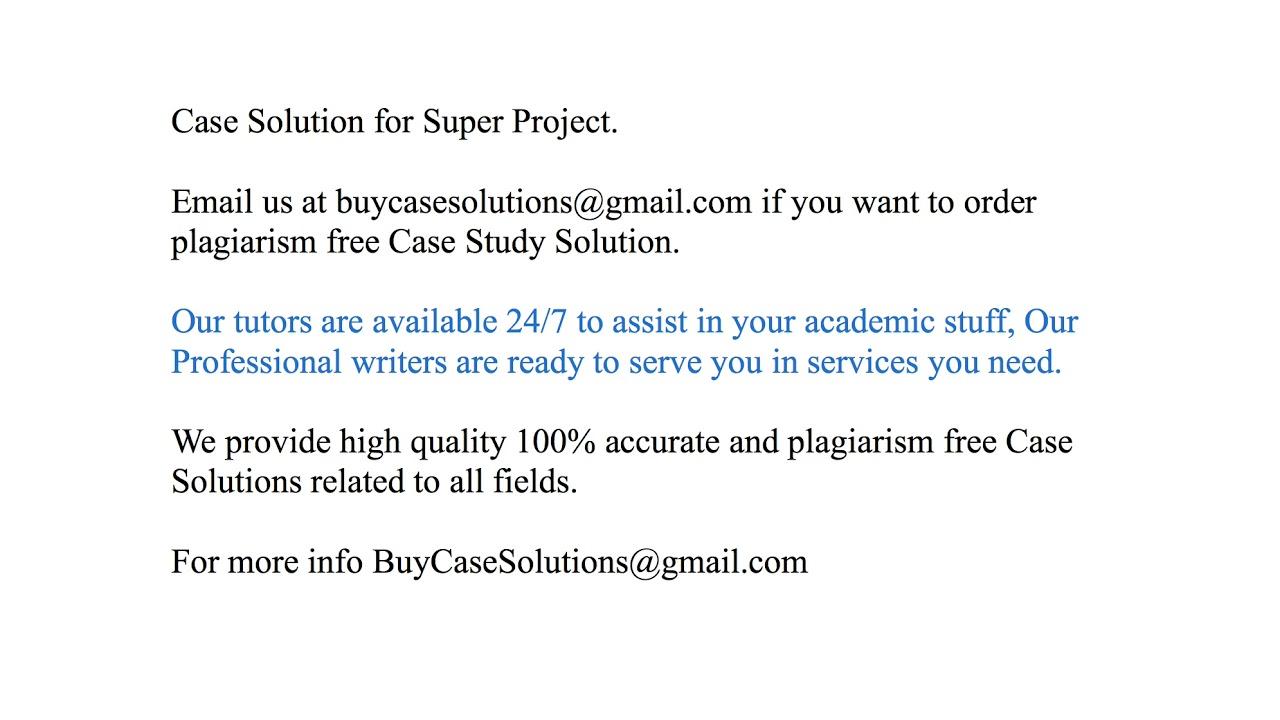 super project case
