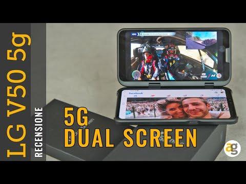 Recensione LG V50 5G con DUAL DISPLAY
