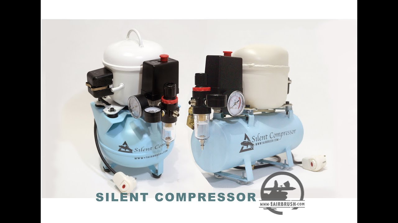Silent Air Compressor Fridge Motor Kompresor Dari Mesin Kulkas