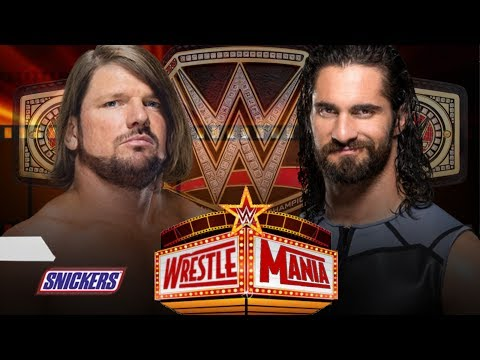 Aj Styles Vs Seth Rollins For Championship