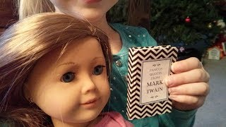 "How To Make A Mini-book For American Girl Dolls, ""famous Quotes From Mark Twain"" (origami Diff 4/10)"