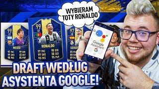 ASYSTENT GOOGLE WYBIERA MI DRAFT! | FIFA 19