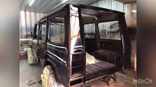 Restoration Mercedes-Benz W461