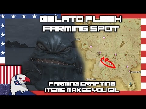Farming Gelato Flesh For Gil And For Void Glue #FFXIV