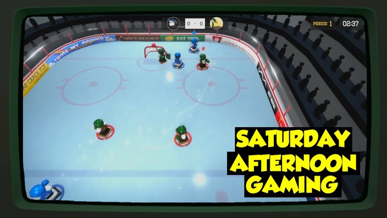 3 On 3 Super Robot Hockey Pc Going A Little Indie With Our