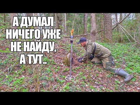 А СКОЛЬКО ЖЕ ИХ ЕЩЕ В ОВРАГЕ?! Поиск в лесу с металлоискателем / Russian Digger