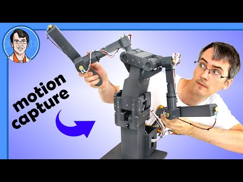Building Motion Capture Rigs for Robotics & Animatronics