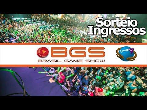 Ingressos BGS 2018 SORTEIO!!! Brasil Game Show com o Canal Omega Play