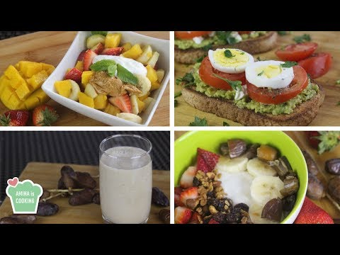 Healthy Suhoor Ideas (prevent thirst during fasting) - Episode 202 - Amina is Cooking