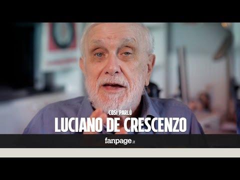 """Luciano De Crescenzo: """"Io, uomo d'amore, sceglierei sempre Napoli"""""""